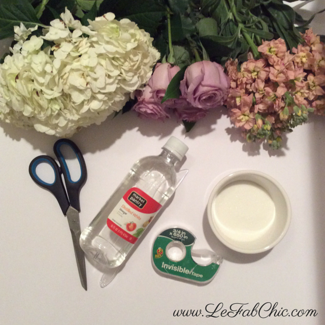 #DIYFloralArrangement tools
