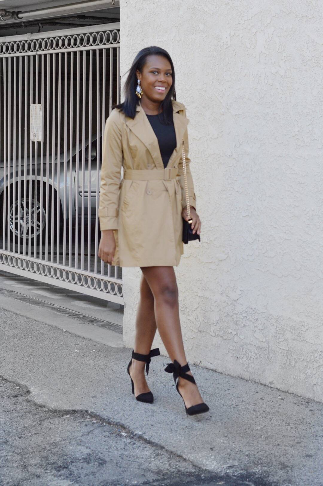 Trench Coat- Le Fab Chic
