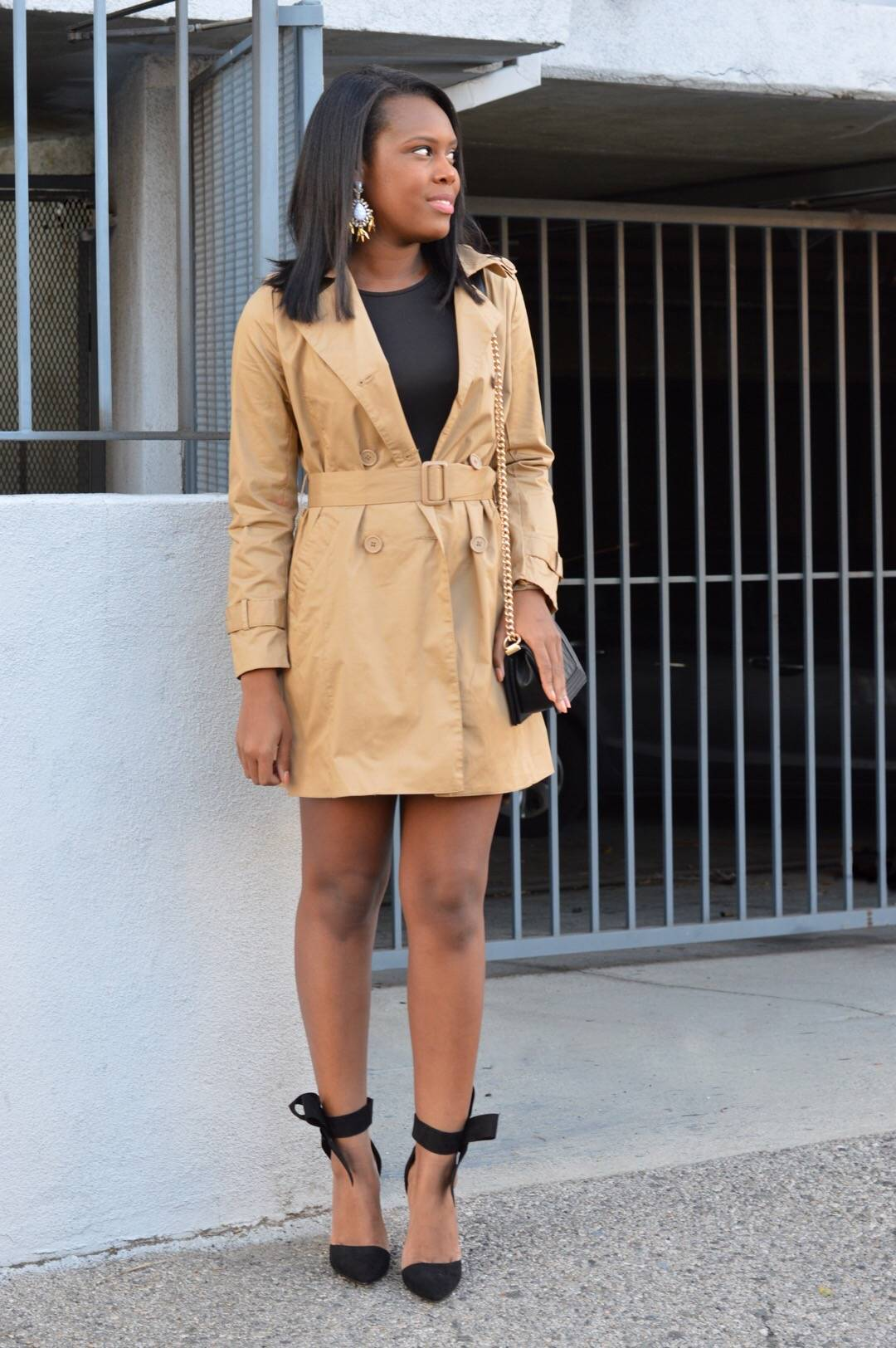 Trench Coat Style- Le Fab Chic
