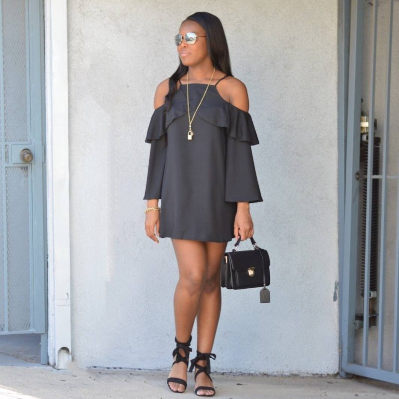 Little Black Dress Style- Le Fab Chic