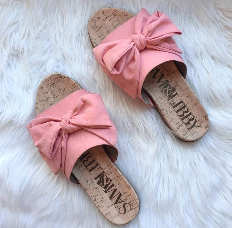 Bow Slide Sandals- Le Fab Chic