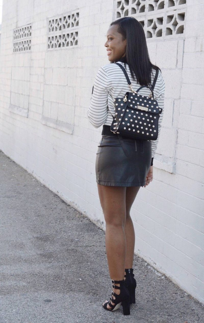 black and white summer style- Le Fab Chic
