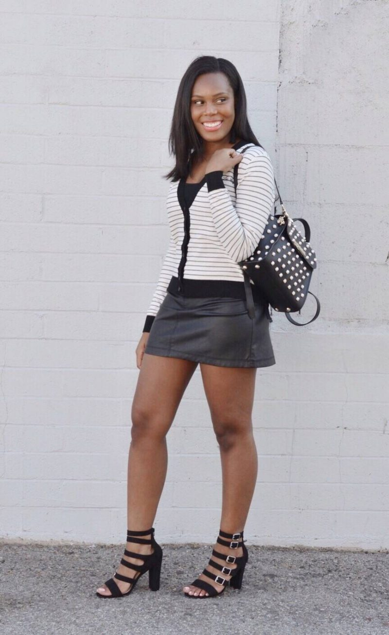 black and white style- Le Fab Chic