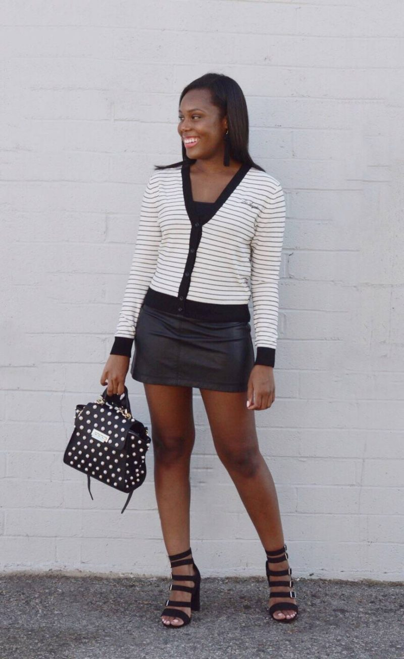 black and white fashion- Le Fab Chic