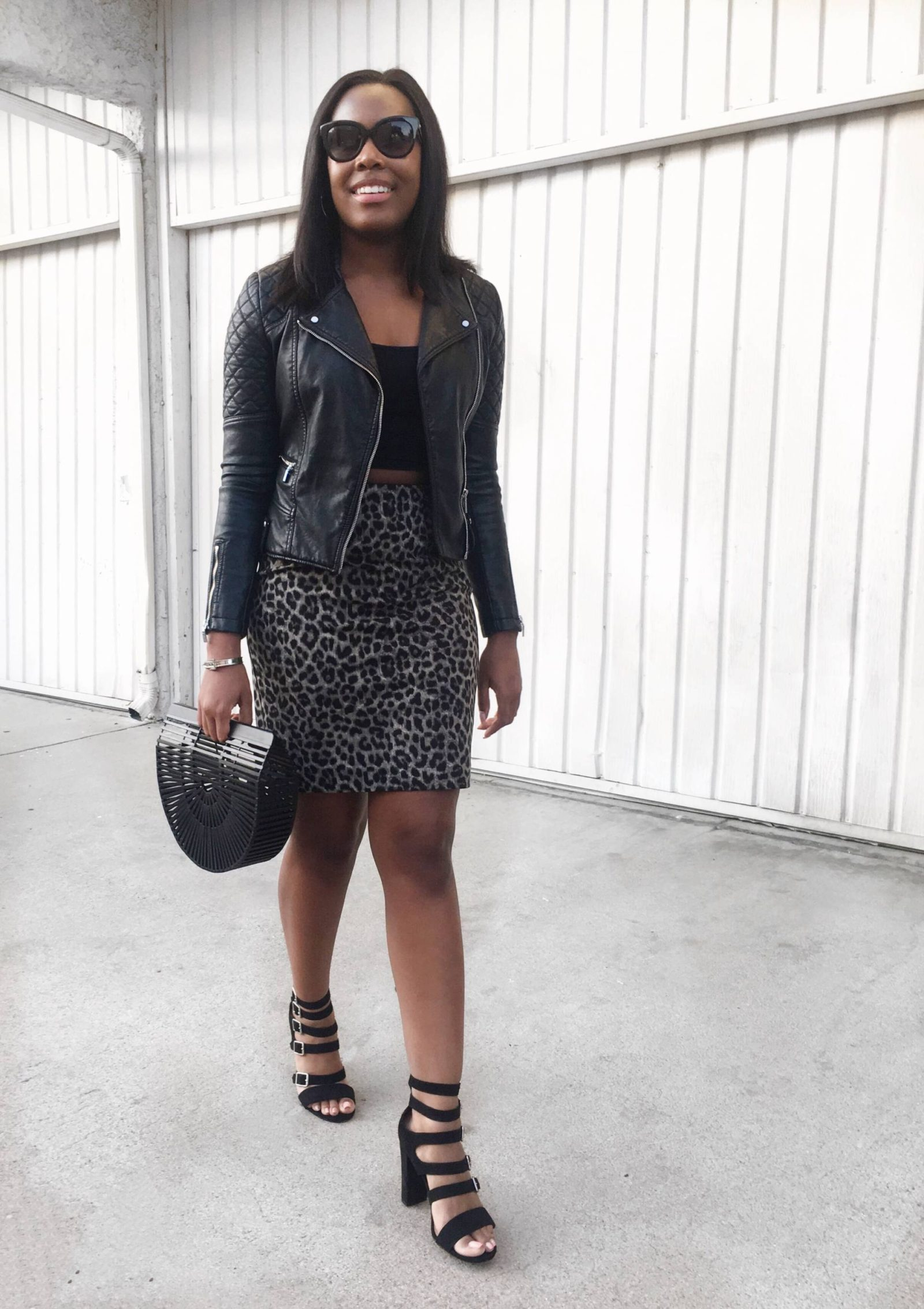 how to wear leopard print- Le Fab Chic