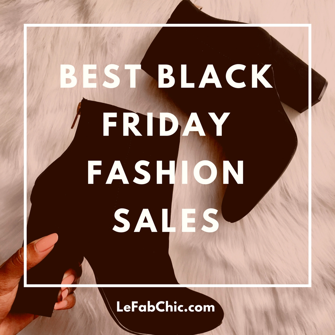Best Black Friday Fashion Sales