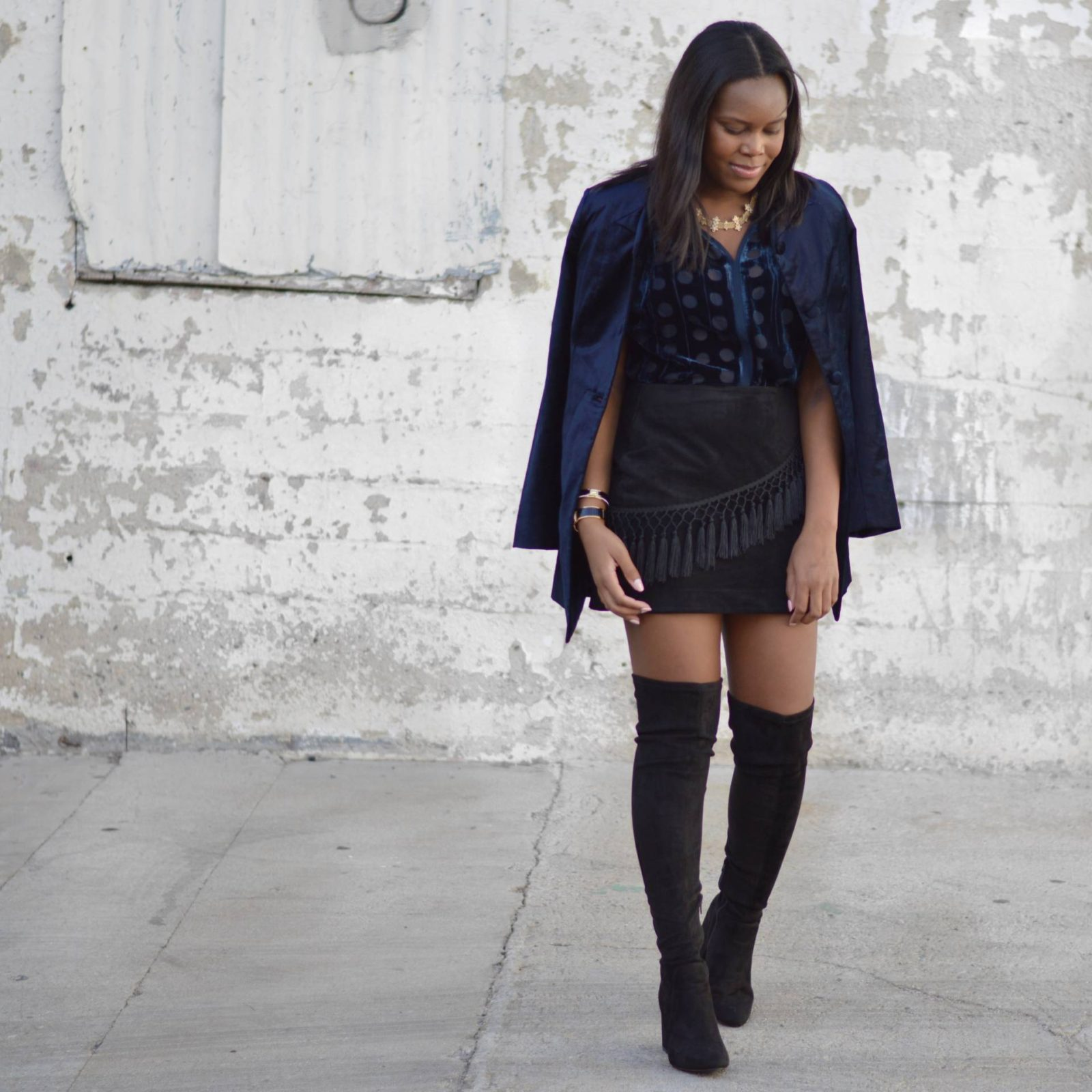 Thanksgiving Outfit Idea - Le Fab Chic