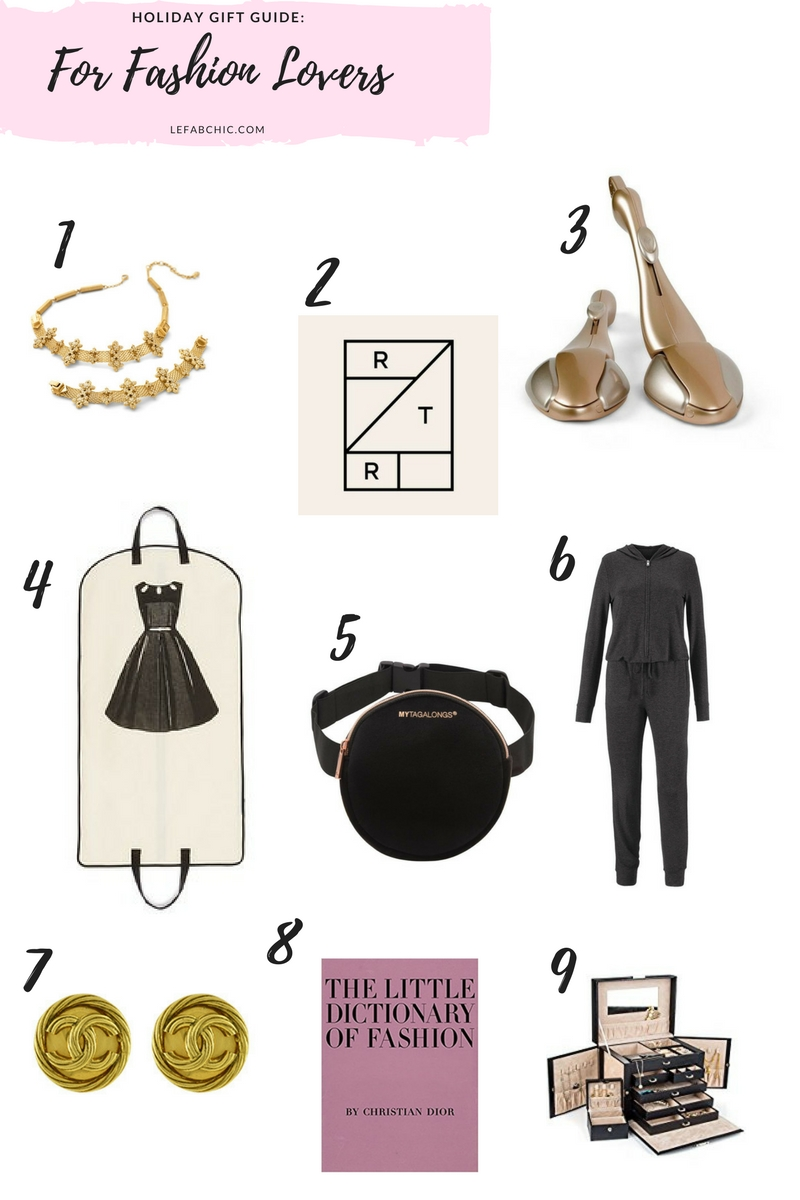 Gift Ideas for Fashion Lovers- Le Fab Chic