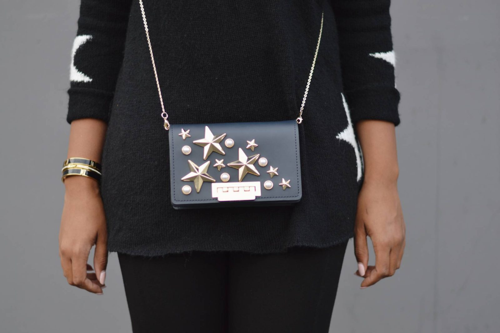 Star Print Fashion Trend Purse- Le Fab Chic