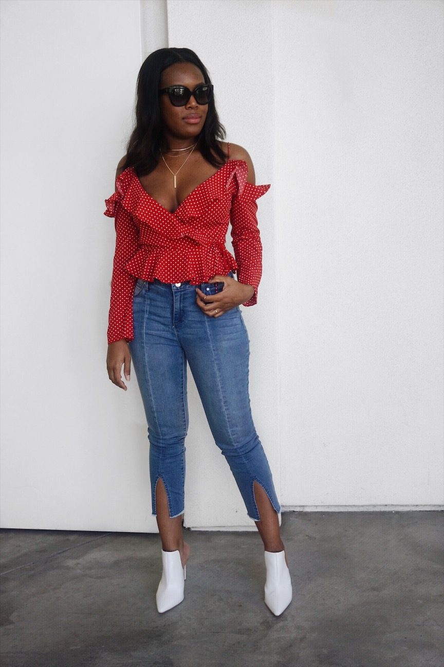Ruffle Tops under 100 - Le Fab Chic