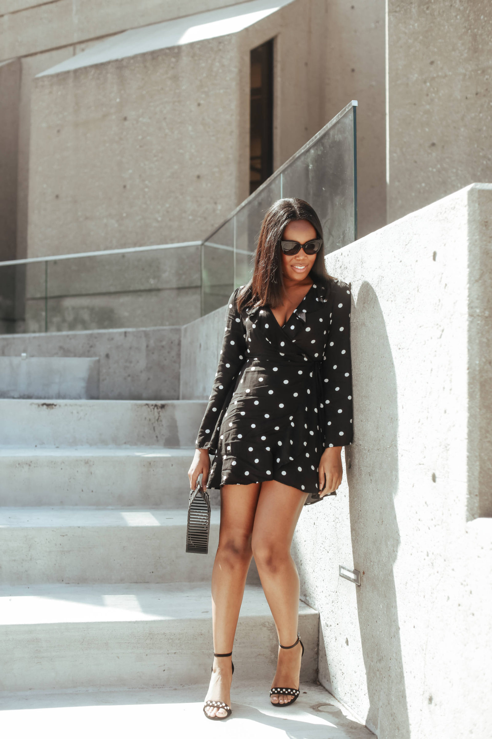 How To Style Polka Dots-LeFabChic