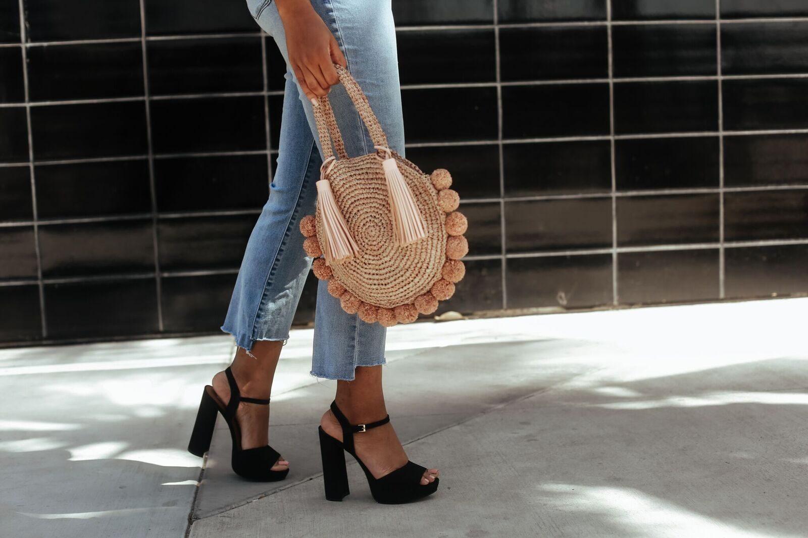 Loeffler Randall Straw Bag - Le Fab Chic