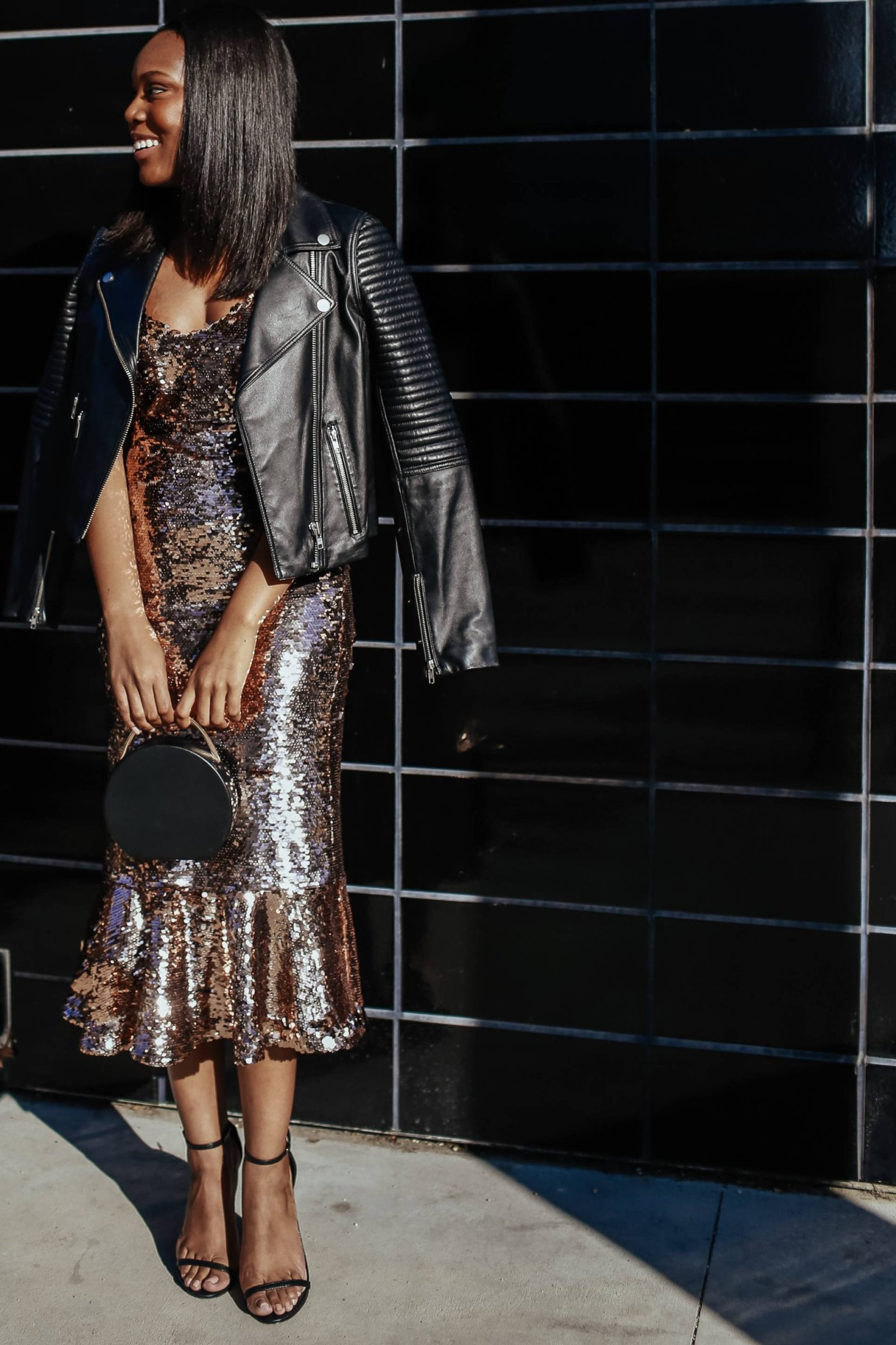 Sequin Dress Casual - Le Fab Chic