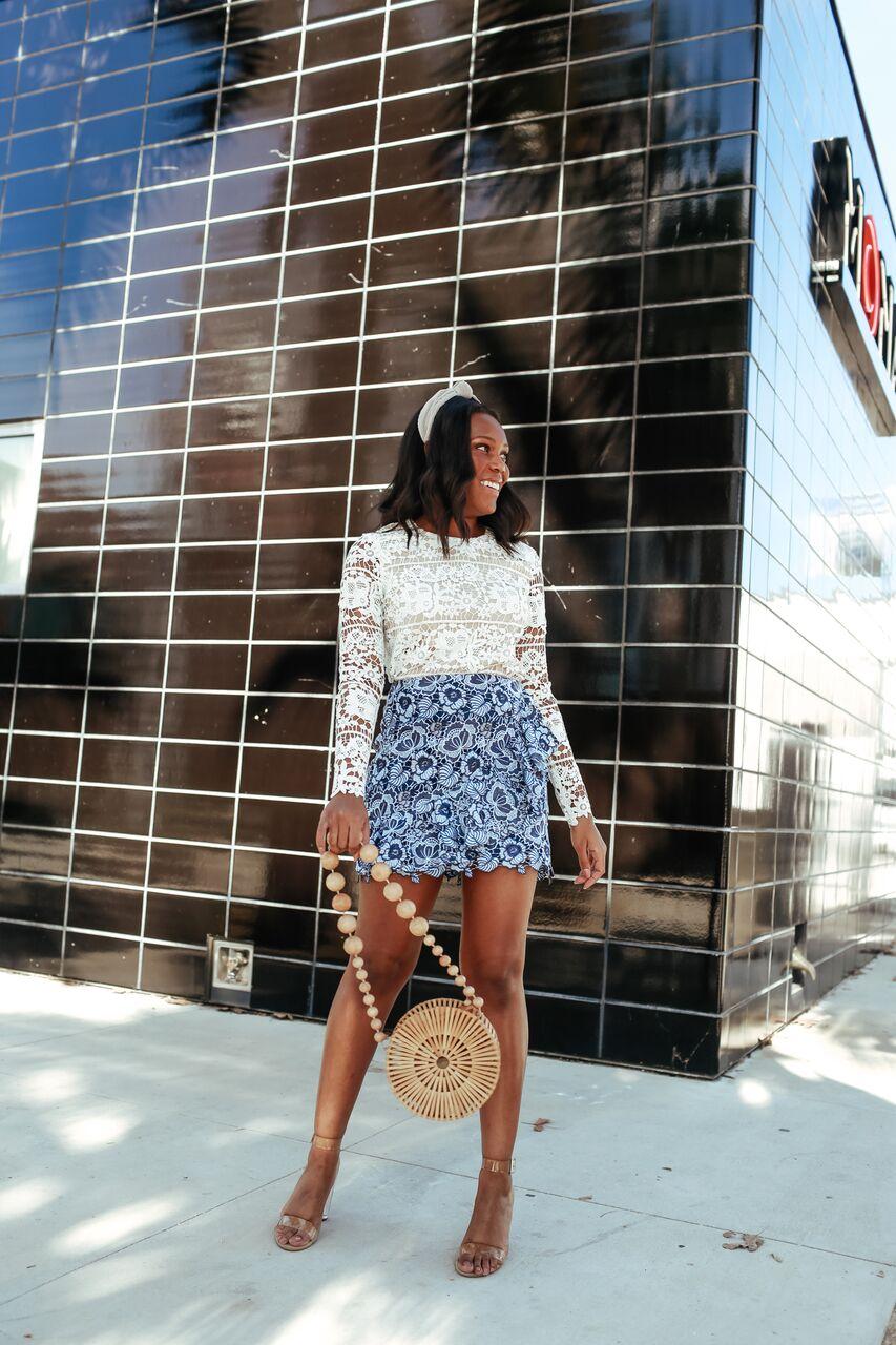 Lace Outfit Idea-LeFabChic