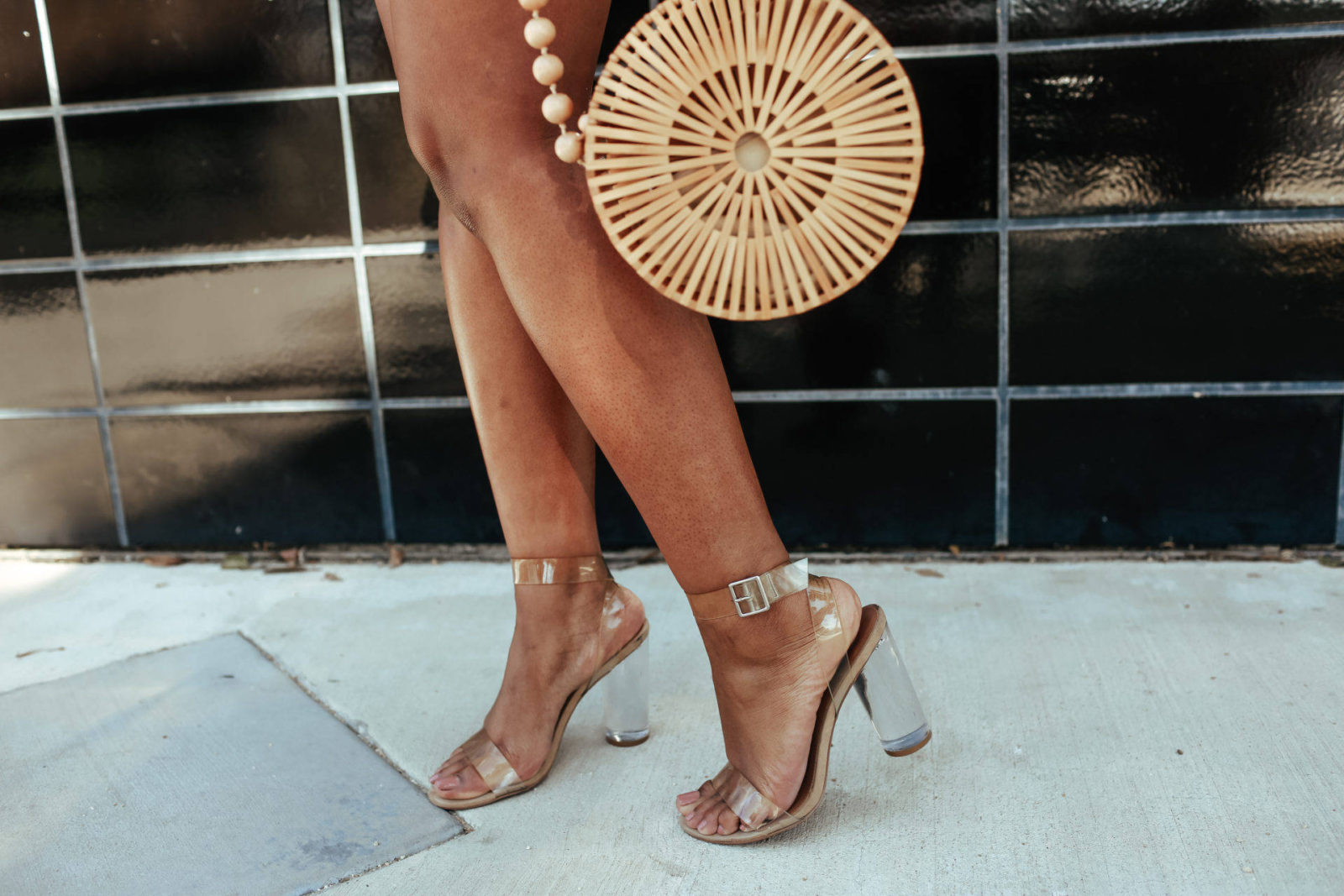 Affordable Clear Heels -Le Fab Chic