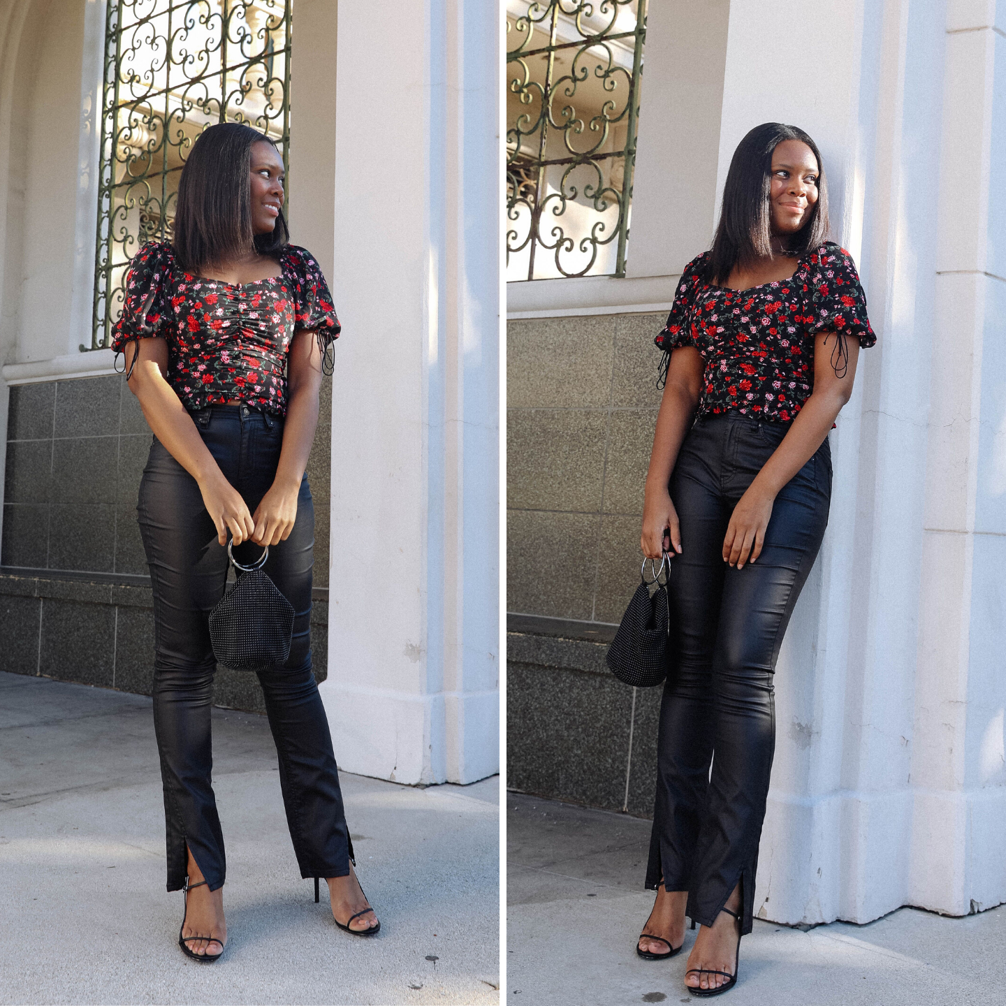 Coated Jeans Style - Le Fab Chic
