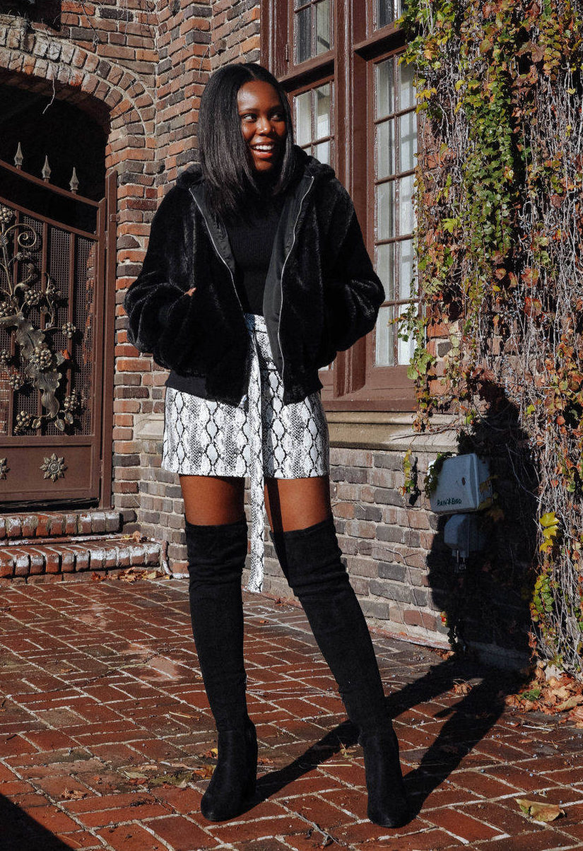 snake print fashion trend style - Le Fab Chic