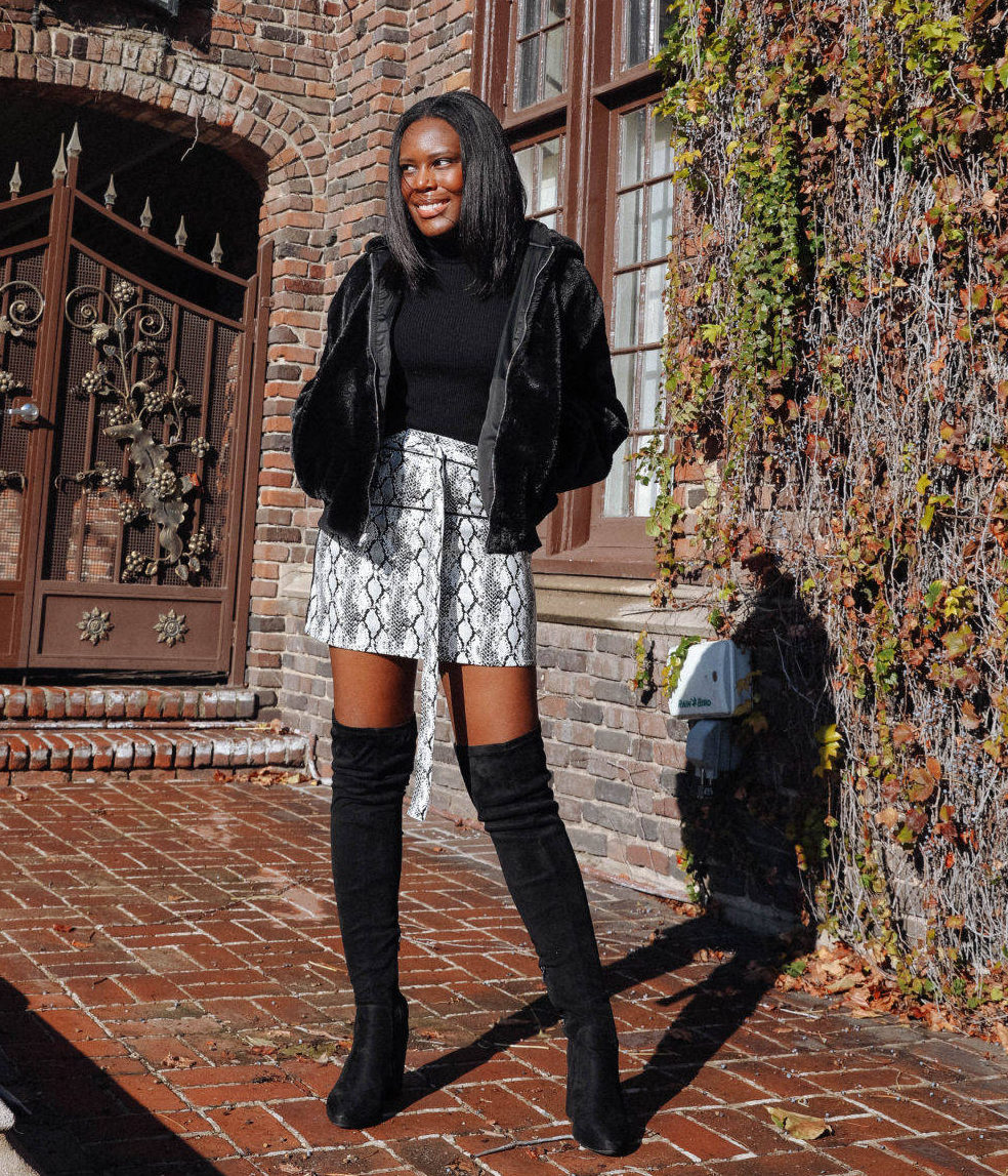 Snake Print Fashion Trend Outfit - Le Fab Chic