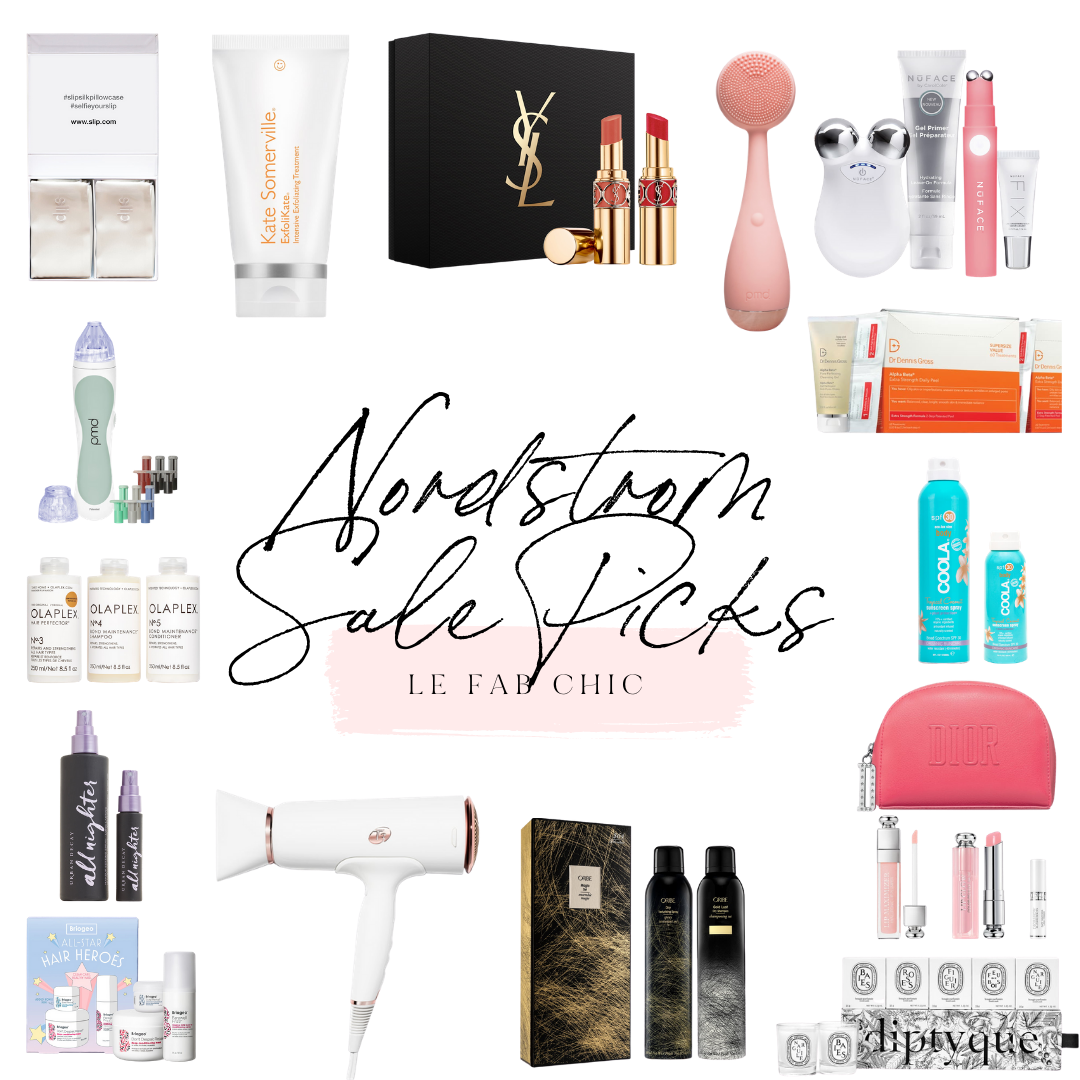 2020 Nordstrom Anniversary Sale Beauty Picks - Le Fab Chic