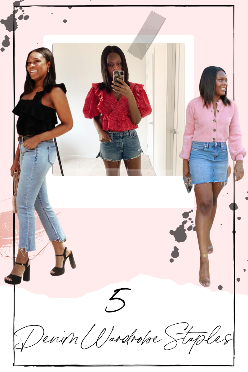 5 Denim Wardrobe Staples - Le Fab Chic