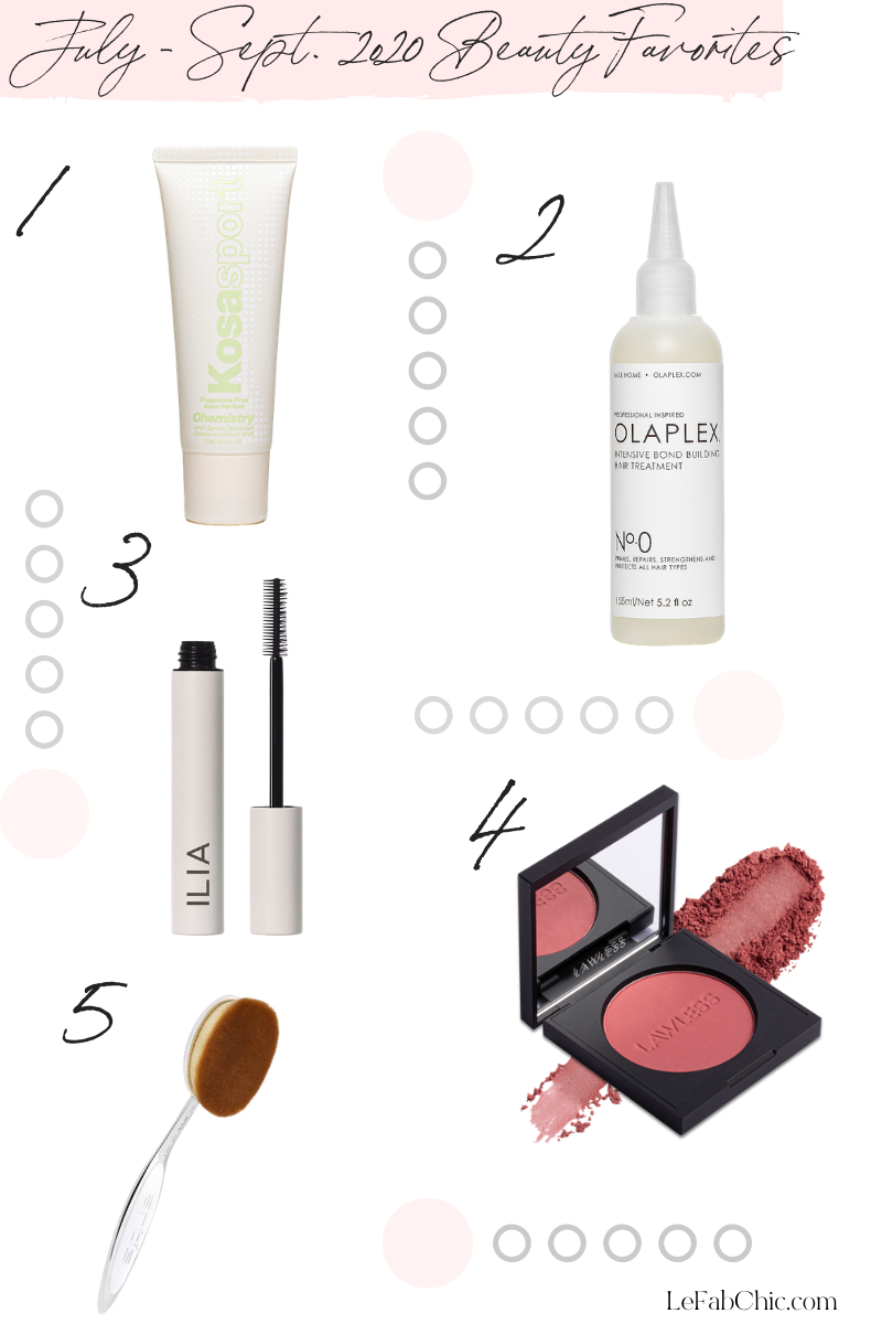 July - sept 2020 Fab Finds Monthly Faves